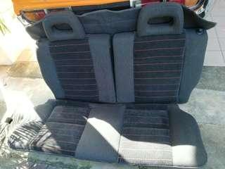 Honda Civic SH3 EF9 Rear Seat