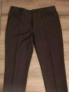 Men's Dark Grey Pants - Tailored w/ Measurement sze 32