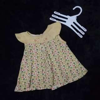 Dress flowers // gaun kutung bunga bayi
