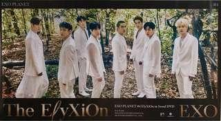 EXO PLANET #4 ElyXiOn - LIMITED EDITION OFFICIAL POSTER FREE SHIPPING IN HARD TUBE CASE