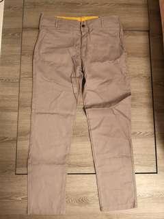 (Brand new) Men's Khaki Pants Grey - Waist 32