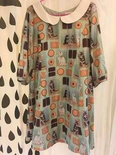 日本貓咪餅乾裙