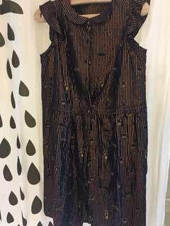 Franche Lippee 金線刺繍裙