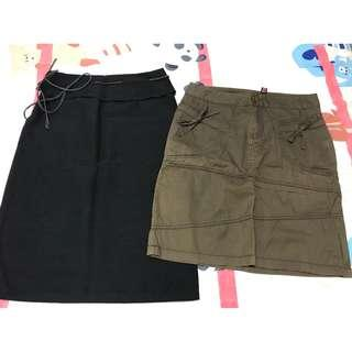 Preloved 2 pcs of Ladies skirt ALL to sell RM35 only