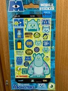 贴纸 Disney Pixar 怪獸公司 阿mo