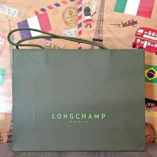 Paperbag longchamp