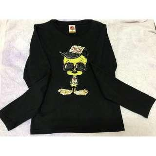 Preloved Looney Tunes Ladies long sleeve Tee to let go RM30 only