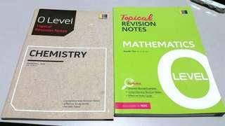 O level Topical Revision Notes: Chemistry & Mathematics