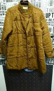 🚚 日本古著 日製 復古變形蟲 外套