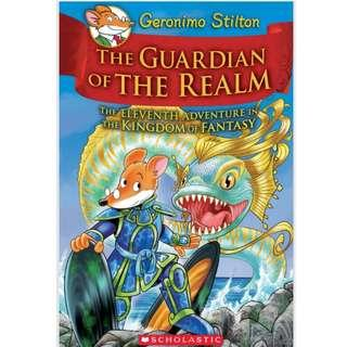 The Guardian of the Realm (Geronimo Stilton and the Kingdom of Fantasy #11)Hardcover– August 28, 2018