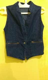 Rompi Vest Denim Jeans #paydaymaret