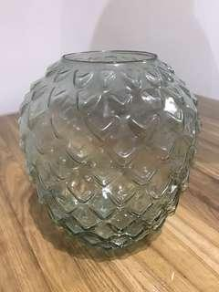 H&M Vase Clear Glass