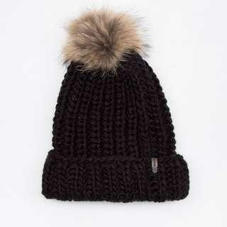 "Rudsak ""Forget"" Women's Pom Pom Hat - Raccoon Fur"
