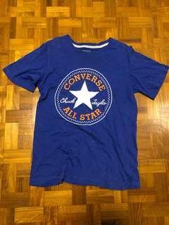 🚚 Converse t-shirt/top (blue)