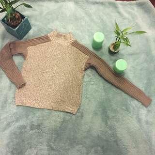 Banana Republic mock neck sweater Beige XS