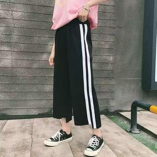 (FREE ONGKIR) Import Black List Pants