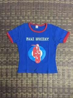 Paul Weller girl band t-shirt