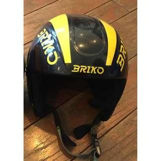 One Briko Windshape Ski Helmet (Child / Kid Size)