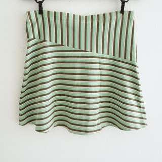 volcom candy stripes skirt