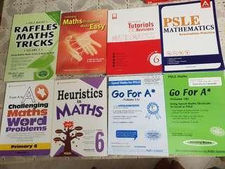 PSLE (P6 )Maths books