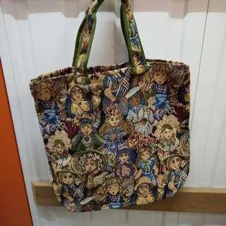 Chimaki Tote Bag 日本品牌織花圖案手挽袋