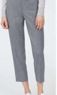BNWOT Club Monaco Betia Wool Charcoal Pant - Retail: $179 plus tax