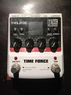 Nux time force multidelay and loop