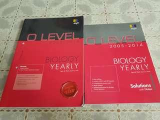 O Level TYS Biology Book with answer key