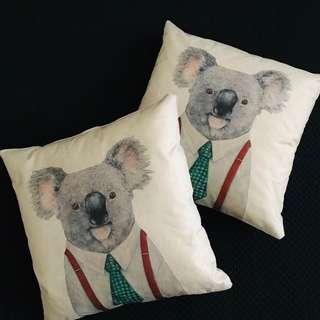 Brand new Mr Koala cushions x 2 for $20
