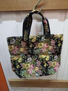 Chimaki Small Tote Bag 日本品牌小形織花手挽袋