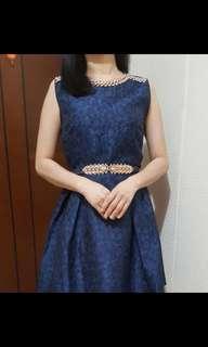 Premium Jaquard Dress (Pretty Elegan)