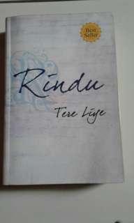Rindu by Tere Liye ( ada TTD pengarang)