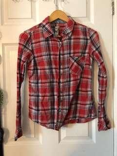Garage plaid shirt size small