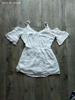 White Playsuit / Dress