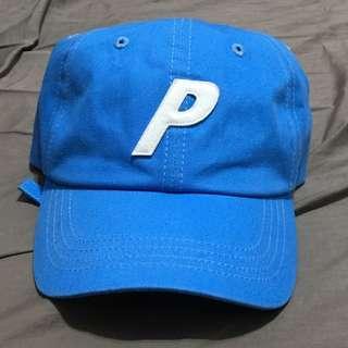 🚚 Palace P 6-Panel 18FW 水藍 天空藍 帆布 老帽 六分帽 全新