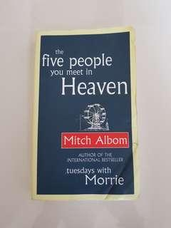 Mitch Albom 'The Five People You Meet In Heaven'