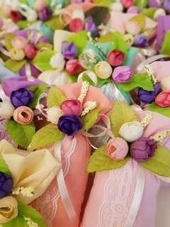 Bunga rampai (scented pillows)