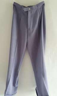 Celana kulot ungu