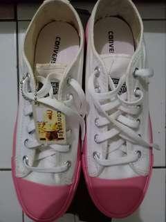 New!! Converse list pink putih