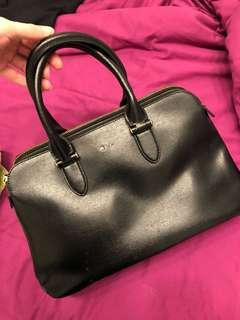 Ralph Lauren black leather purse