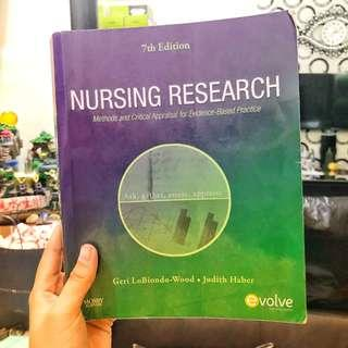 Nursing Research: Methods and Critical Appraisal for Evidence-Based Practice (Seventh Edition)