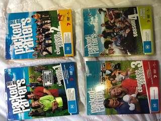 Packed to the rafters seasons 1-4 all discs