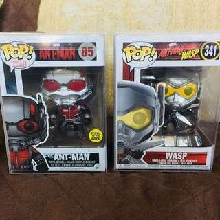 Ant-Man Glow-In-The-Dark and Wasp Set