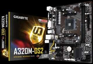 Gigabyte Motherboard for AMD socket AM4