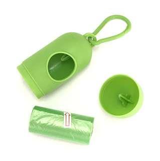 Pet disposable cleaning plastic bag refill set