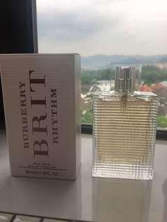 💯Guaranteed Original Burberry Brit Rhythm 50ml Eau de Toilette FOR HER (WOMAN) Brand New Unused (Sell at loss - Bought RM286.00)