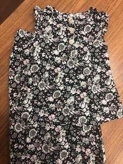 Cotton Sleeveless Kurung