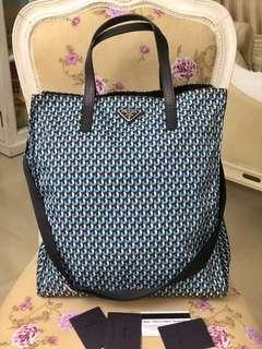 🚚 Authentic PRADA Tessuto Tote Bag