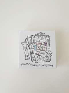 Smiggle Sketching Card Game Set