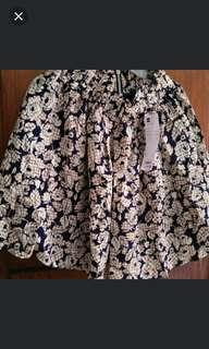 Rok / Skirt (Beige)